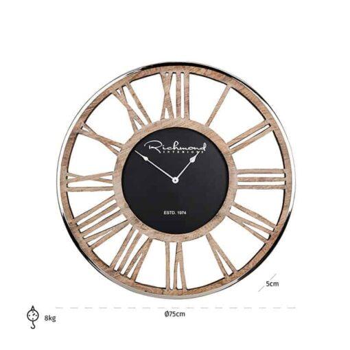 -KK-0033 - Clock Johnson metal