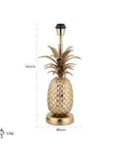 -LB-0066 - Table Lamp Colada Pineapple gold