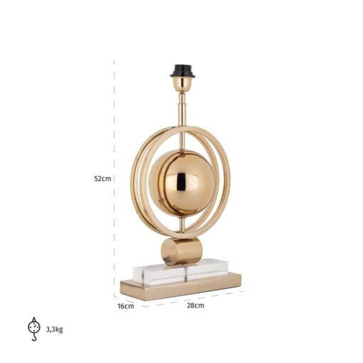 -LB-0072 - Table Lamp Averil gold