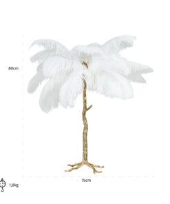 -LB-0080 - Table Lamp Upanova white