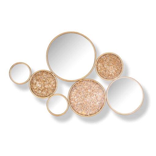 -MI-0037 - Mirror Isaiha with 4 round mirrors