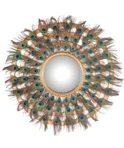 -MI-0049 - Mirror Macynn with feathers