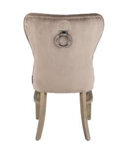 S4278 FR TAUPE VELVET - Chair Genesis fire retardant