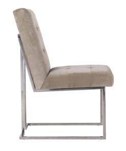 S4399 KHAKI VELVET - Chair Madison