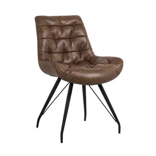 S4414 BROWN - Chair Rowan Brown
