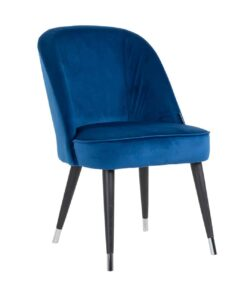 S4459 FR S BLUE VELVET - Chair Julius