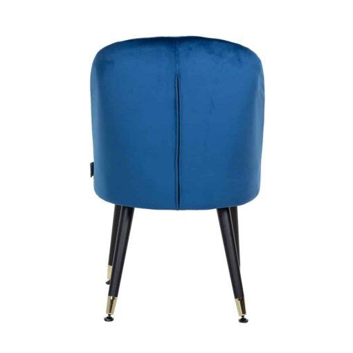 S4459 G BLUE VELVET - Chair Julius Blue Velvet