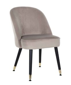 S4459 G KHAKI VELVET - Chair Julius Khaki Velvet