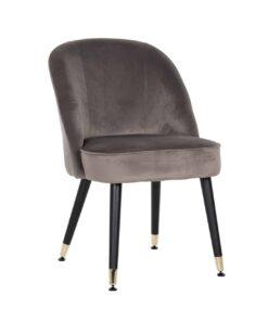 S4459 G STONE VELVET - Chair Julius Stone Velvet