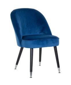 S4459 S BLUE VELVET - Chair Julius Blue Velvet