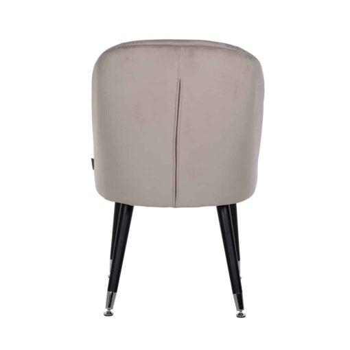 S4459 S KHAKI VELVET - Chair Julius Khaki Velvet