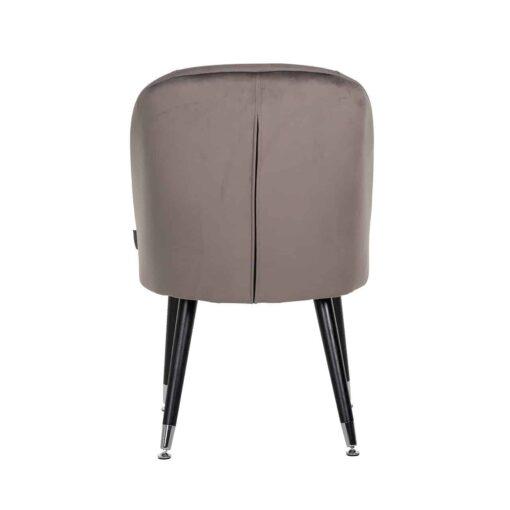 S4459 S STONE VELVET - Chair Julius Stone Velvet