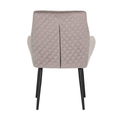 S4461 KHAKI VELVET - Chair Chrissy Khaki Velvet