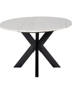 7061 - Dining table Lexington Oval 230 white carrara marble