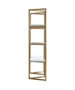 7257 - Display unit Lagrand 3-shelves faux marble
