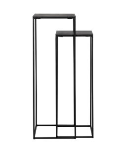 825076 - Column Bolder set of 2 aluminium black
