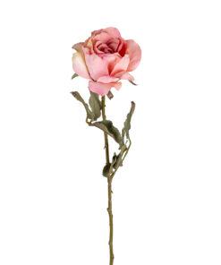 -FL-0018 - Flower Rose Pink (12 pieces)
