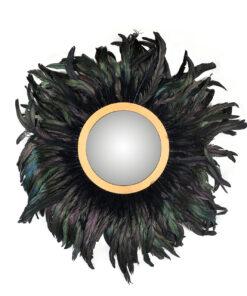 -MI-0050 - Mirror Madlen with feathers