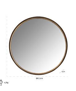 -MI-0059 - Mirror Cedric 60Ø