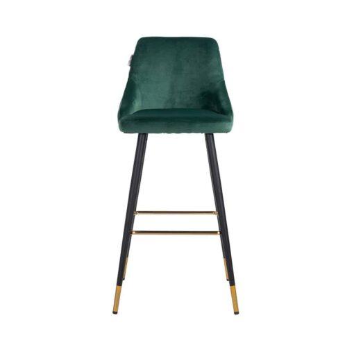 S4476 GREEN VELVET - Bar stool Imani Green Velvet