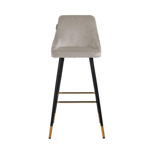 S4476 KHAKI VELVET - Bar stool Imani Khaki Velvet