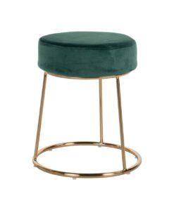 S4477 GREEN VELVET - Chair Rory Green Velvet / gold