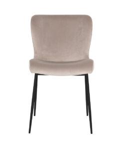 S4509 KHAKI VELVET - Chair Darby Khaki / Black