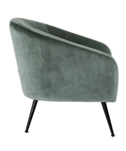 S4514 JADE VELVET - Easy Chair Inova Jade Velvet / Black