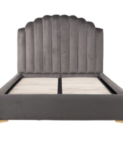S6001 STONE VELVET - Bed Belmond 120x200 excl. Mattress