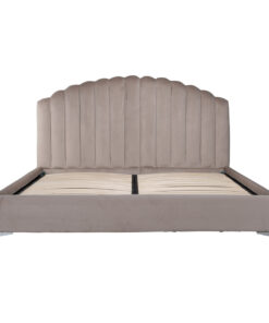 S6002 KHAKI VELVET - Bed Belmond 180x200 excl. Mattress