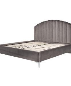 S6002 STONE VELVET - Bed Belmond 180x200 excl. Mattress