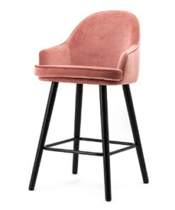 Barstoel-barbara-roze